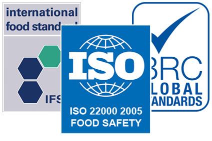 ISO 22000:2015, British Retail Consortium, International Food Standards