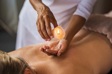 Formação massagem velas quentes